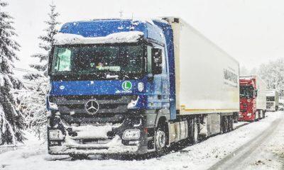 Truck parking heater